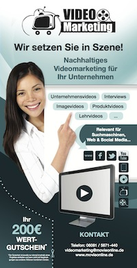 Video-Marketing f�r Unternehmen Wertgutschein
